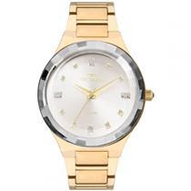 Relógio Feminino Technos 2036MJK4K Analógico Pulseira de Aço Dourado d76cb044b3