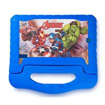 Tablet Infantil Vingadores Multilaser NB280 Câmera 2MP Memória Interna 8GB Azul