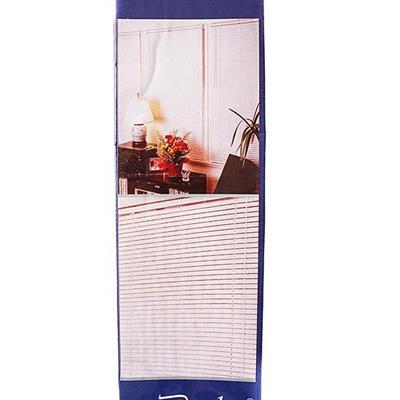 Persiana Becky 110x160 cm Plástico Espessura 25 mm Marfim
