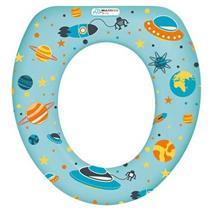 Assento Redutor para Vaso Sanitário Multikids Baby Soft Seat BB210 Azul