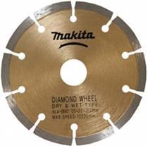 Disco Diamantado Makita 125 x 20 mm D-38261 Especial para Concreto