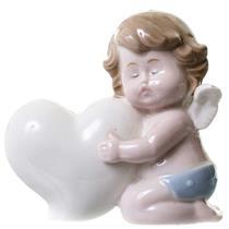 Adorno Anjo Latcor LRP16412-18 Porcelana