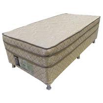 Cama Box Nevada Molas Bonnel 90x190x65cm Antiácaro Antimofo Antibactéria