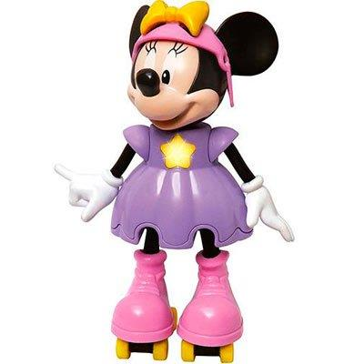 Brinquedo Minnie patinadora Elka 950