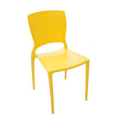 Cadeira Safira Tramontina 92048/000 Amarelo