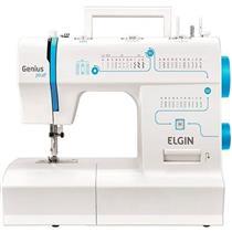 Máquina de Costura Elgin Genius Plus JX4035 700rpm Branco